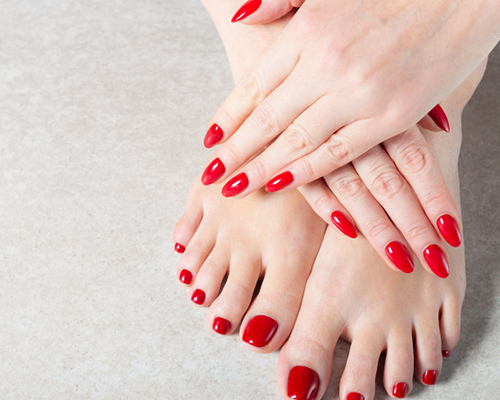 Manicure & Pedicure – Starting Rs. 550